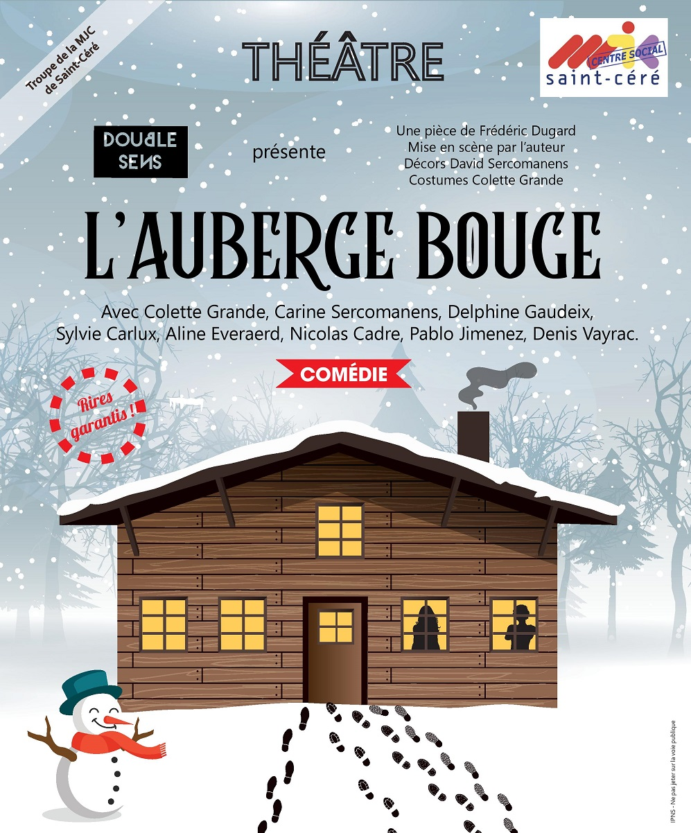 L auberge bouge affiche festival 2019